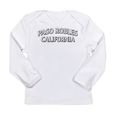 Paso Robles California Long Sleeve Infant T-Shirt