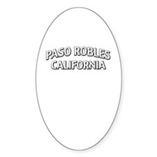 Paso Robles California Decal