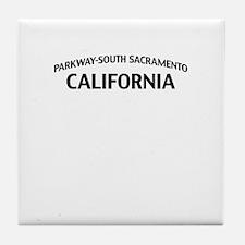 Parkway-South Sacramento Tile Coaster