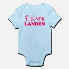 I Love Landen Body Suit