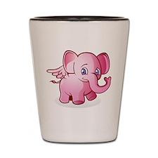 Pink Elephant Shot Glass