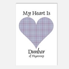 Heart - Dunbar of Pitgaveny Postcards (Package of