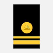 NOAA Lieutenant (jg) <BR>Vertical Decal