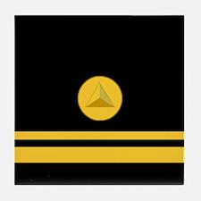 NOAA Lieutenant (jg) <BR>Tile Coaster