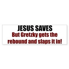 Jesus Saves Bumper Bumper Sticker