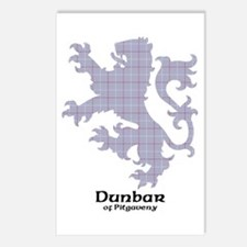 Lion - Dunbar of Pitgaveny Postcards (Package of 8