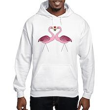 Flamingo Love Hoodie