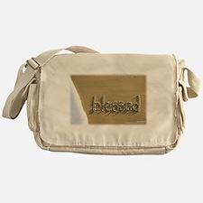"Sand Script ""blessed"" Bag"