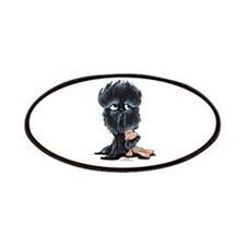 Affenpinscher Pattern Patches