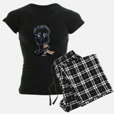 Affenpinscher Pattern Pajamas