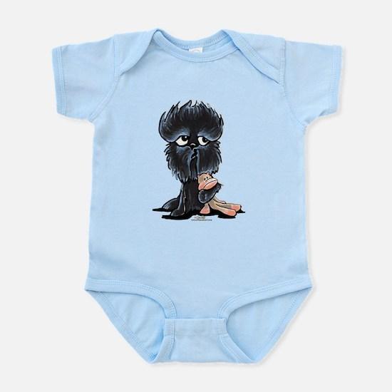 Affenpinscher Pattern Infant Bodysuit