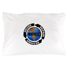Recycle World Pillow Case