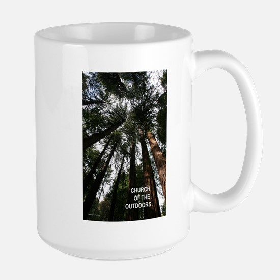 Church Of The Great Outdoors Large Mug