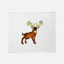 Buck Throw Blanket