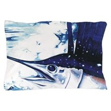 Sammy Sailfish Pillow Case