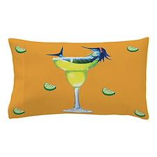 Margarita trixie orange Pillow Case
