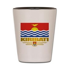 """kiribati Flag"" Shot Glass"