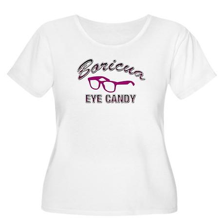 Boricua Eye Candy Women's Plus Size Scoop Neck T-S