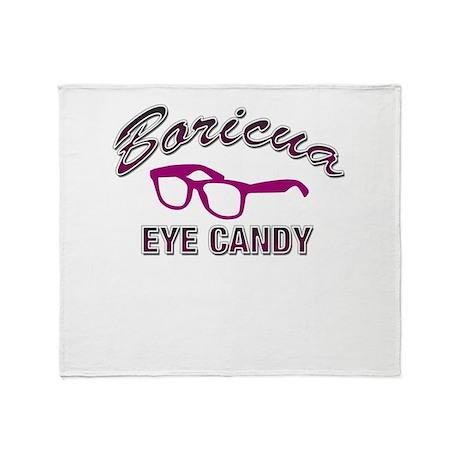 Boricua Eye Candy Throw Blanket
