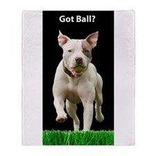 Pit Bull 7 Throw Blanket