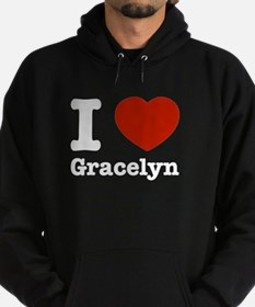 I love Gracelyn Hoodie (dark)