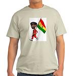 3D Ghana Ash Grey T-Shirt