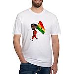 3D Ghana Fitted T-Shirt
