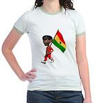 3D Ghana Jr. Ringer T-Shirt