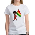 3D Ghana Women's T-Shirt