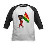 3D Ghana Kids Baseball Jersey