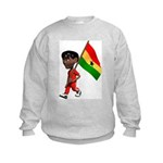 3D Ghana Kids Sweatshirt