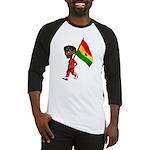 3D Ghana Baseball Jersey