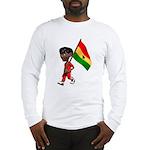 3D Ghana Long Sleeve T-Shirt