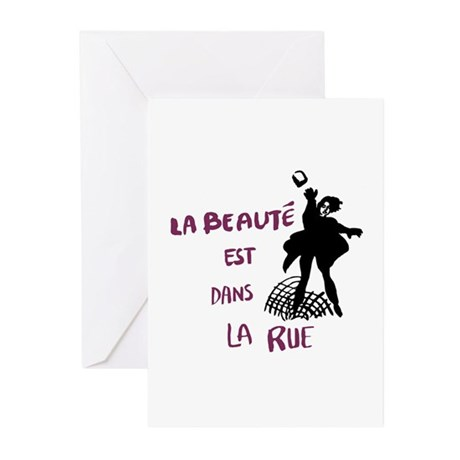 Paris '68 Greeting Cards (Pk of 10)