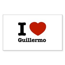 I love Guillermo Decal