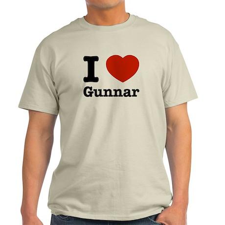 I love Gunnar Light T-Shirt