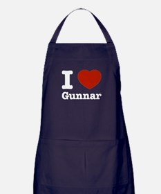 I love Gunnar Apron (dark)