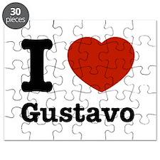 I love Gustavo Puzzle