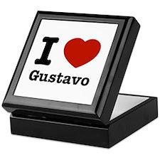 I love Gustavo Keepsake Box