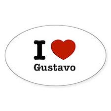 I love Gustavo Decal