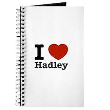I love Hadley Journal
