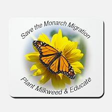 Save the Monarch Mousepad