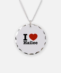 I love Hailee Necklace