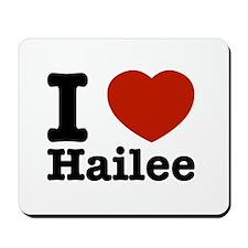 I love Hailee Mousepad