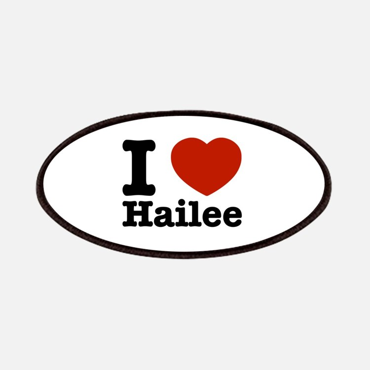 I love Hailee Patches