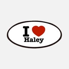 I love Haley Patches
