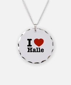 I love Halle Necklace