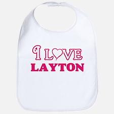 I Love Layton Baby Bib
