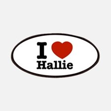 I love Hallie Patches