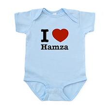 I love Hamza Infant Bodysuit